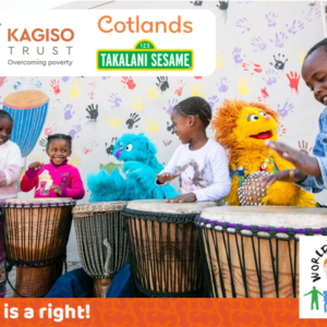 Kagiso Trust, Cotlands and Sesame Workshop celebrate World Play Day in Zamdela, Sasolburg