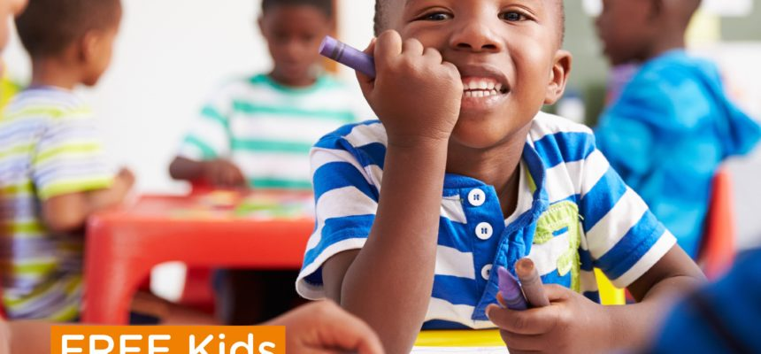 Free Download: Kids Activity Booklet