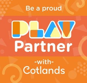 Be a proud Play Partner with Cotlands