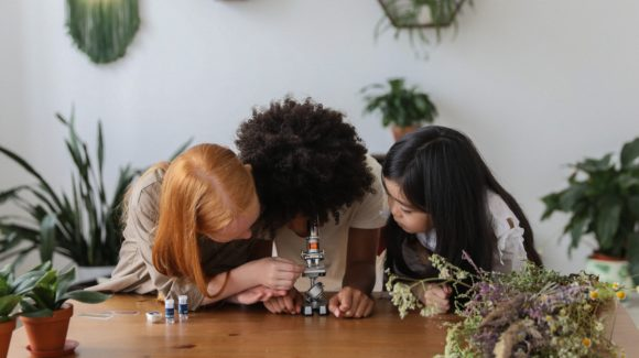 Playing with objects help children develop problem solving skills