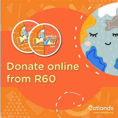 Donate online from R60